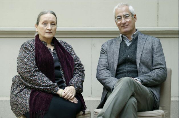Pilar Molina y David Cirici: ganadores premios EDEBÉ
