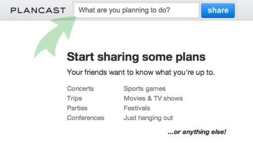 Plancast:unaformarápidadeverycompartireventoscontusamigos