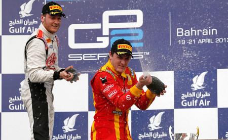 La lucha entre Fabio Leimer y Stefano Coletti en la GP2 sigue en Baréin