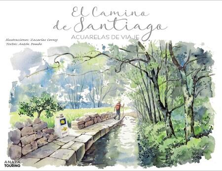 Camino De Santiago Acuarelas viaje