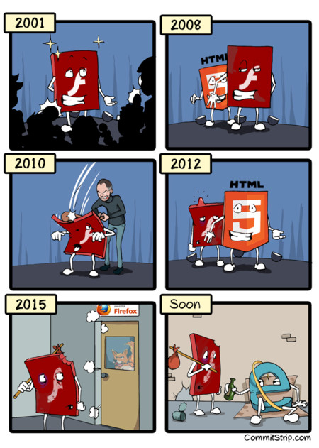 Strip La Vie De Flash1