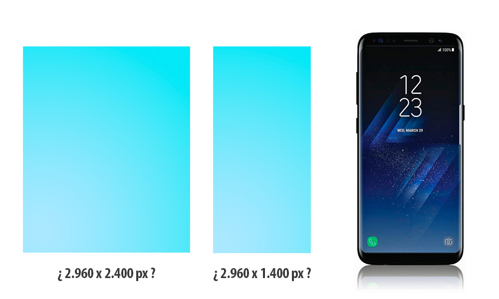 Samsung Galaxy™ S8 Resolucion