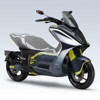 El Yamaha E01 para el carnet A1 será el primer scooter eléctrico de la marca en Europa, si se cumplen estas patentes