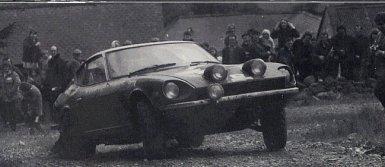 Shekhar Mehta en el Rally de Escocia