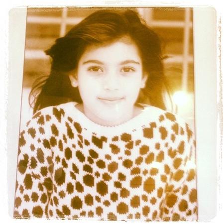 kim kardashian siete años