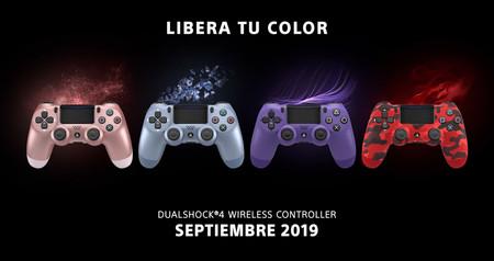 PS4 ampliará en septiembre su colección de mandos DualShock 4 con cuatro modelos nuevos