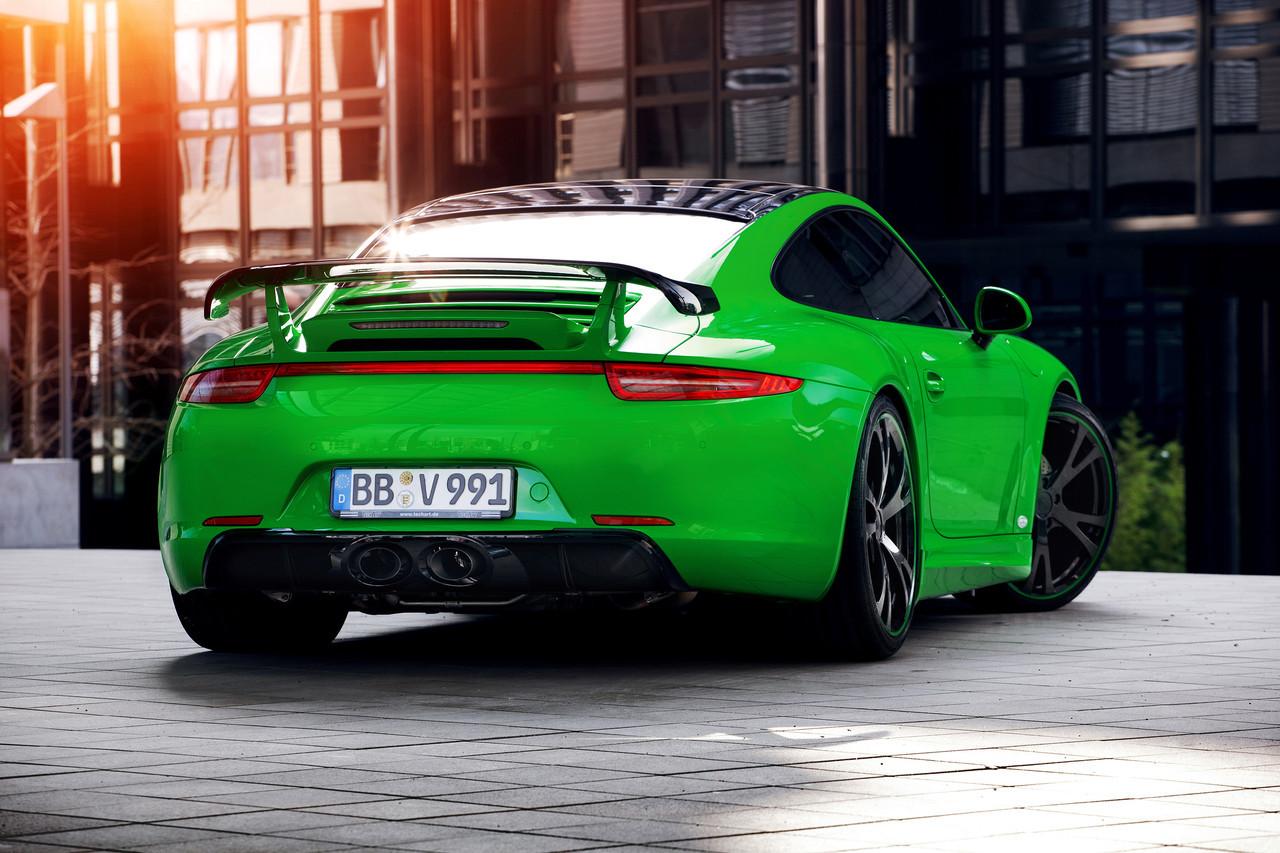 Foto de Porsche 911 Carrera 4S por TechArt (30/32)