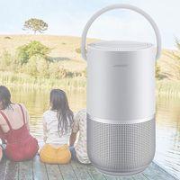 Portable y compatible con Google Assistant y Alexa, el Bose Portable Smart Speaker es el altavoz (casi) perfecto, y lo tienes ahora en Amazon por 269,91 euros