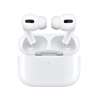 AirPods Pro son unos auriculares revolucionarios equipados con tecnología de cancelación activa de ruido que permiten sumergirse en aquello que escuches en cada momento: tu música favorita, una película o serie o una llamada