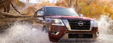 Nissan Armada 2021, el SUV más grande de la familia ahora es más potente, tecnológico y con un interior más minimalista