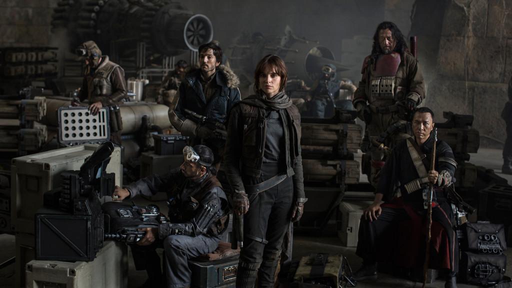 Los protagonistas de Rogue One