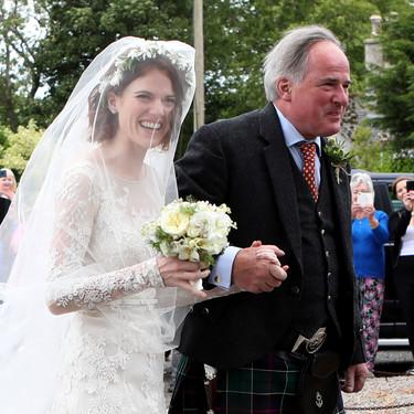 ¡Kit Harington y Rose Leslie ya son marido y mujer! Así ha sido el vestido de la novia
