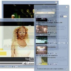YoutubeCrazyVideos, reproductor de Youtube para el escritorio