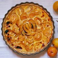 Pastel de ciruelas amarillas: receta de postre