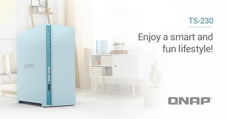 QNAP estrena NAS multimedia doméstico, es el TS-230 y llega pensando en los acumuladores digitales del hogar