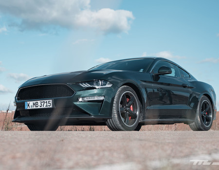 Ford Mustang Bullitt Prueba