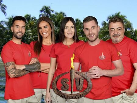 Estos son los 4 supervivientes nominados (Telecinco) y el expulsado definitivo de Isla Destierro