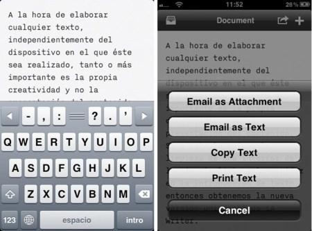 iA Writer, la quintaesencia del escriba, ahora también para iPhone