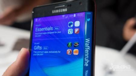 Samsung Galaxy Note Edge se exhibe en un vídeo 'unboxing' oficial