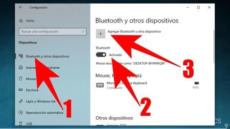 Agregar Bluetooth