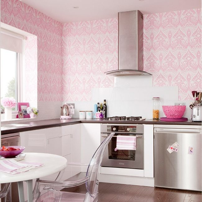 Pink Kitchen Decoration 1