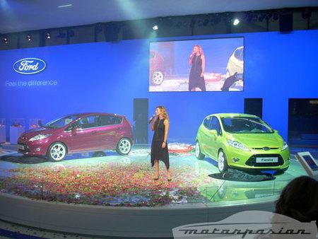 Ford Fiesta en el salón de Madrid
