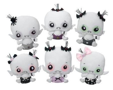 Vamplets, los muñecos bebé vampiro