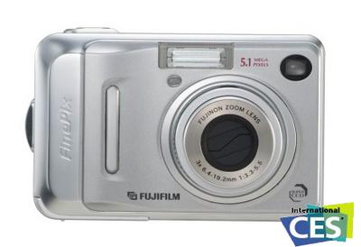 Nuevas FinePix A500 y A400, con SuperCCD
