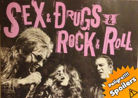 Risas amargas con 'Sex&Drugs&Rock&Roll'