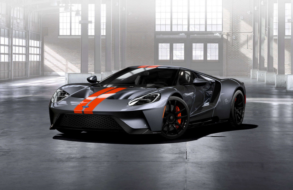 Ford GT gris