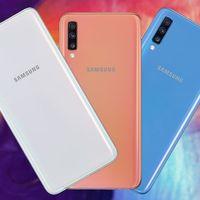 Samsung Galaxy A70: un gigante con pantalla panorámica para aquellos que quieran gran batería sin renunciar a la triple cámara