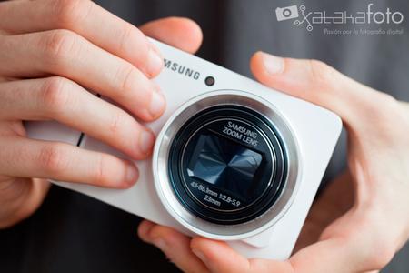 Samsung Galaxy Camera, análisis de la compacta con Android