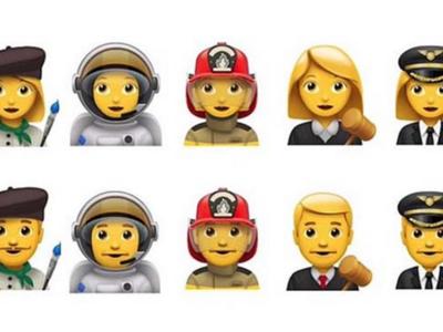 Apple propone a Unicode incluir cinco nuevas profesiones en los emojis
