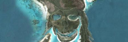 La isla Pirata de 'Piratas del Caribe' en Google Earth