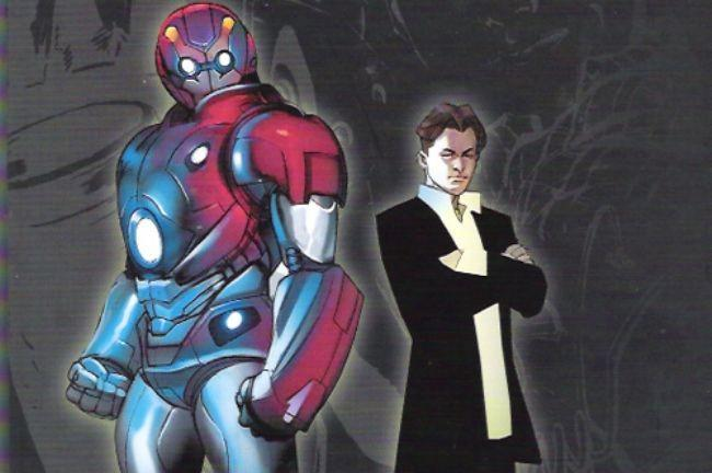 Scott Card Iron Man