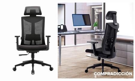 Esta silla de oficina es de lo más completo que vas a encontrar y está a precio mínimo en Amazon por sólo 178 euros