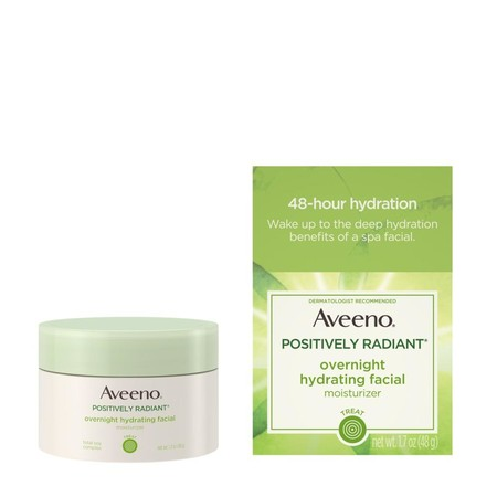Ave 381371023622 Obwb 1000wx1000h Aveeno Positively Radiant Overnight Hydrating Facial