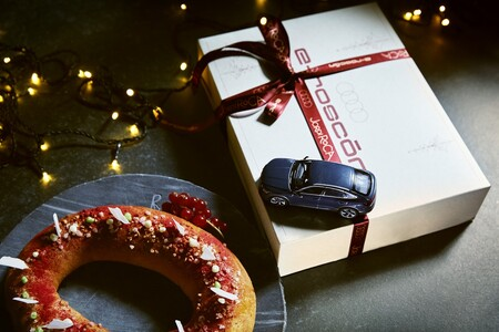Audi y Jordi Roca se unen para regalar el roscón de reyes más positivo e innovador