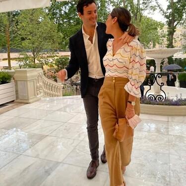 Tamara Falcó luce una de las blusas más bonitas del momento: es de Uterqüe y pronto volverá a estar en stock