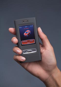 Prototipo de teléfono de Audi