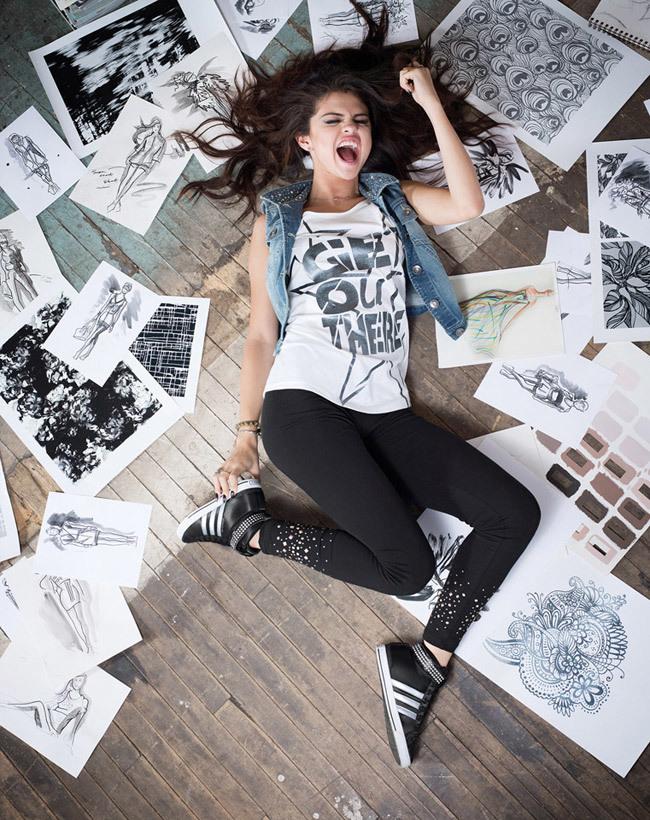 Adidas Neo Mujer Selena Gomez 2015