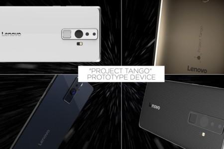 Project Tango Lenovo Google