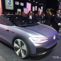 Volkswagen I.D. Lounge: el SUV eléctrico de 7 plazas que plantará cara al Tesla Model X verá la luz el 16 de abril