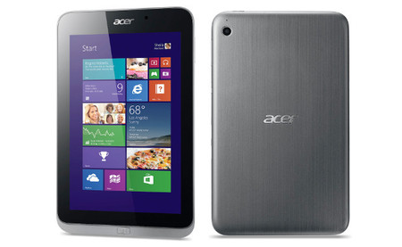 Acer Iconia W4 Frontal y trasera