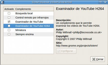 Totem Youtube - Complementos