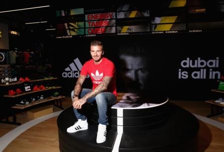 David Bekcham Adidas Dubai Opnening Store