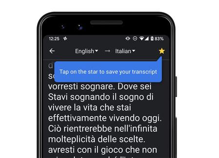 El Traductor de Google ya permite guardar nuestras transcripciones