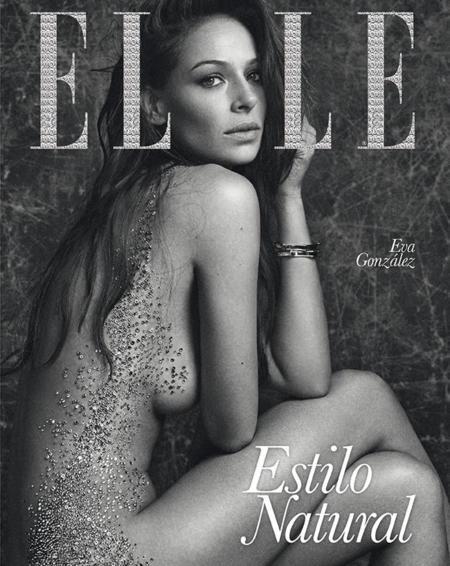 Eva González brilla en la portada de Elle Swarovski