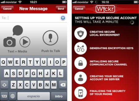 Wickr, la aplicación de mensajería para los que anteponen la seguridad a todo