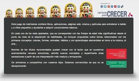 Recomendaciones de lectura para niños de la Fundación Germán Sánchez Ruipérez de Salamanca